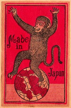 Japanese matchbox label, circa 1910