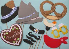 Weiteres - Photo Booth Oktoberfest (Foto-Accessoires) - ein Designerstück von…