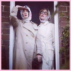 How utterly gorjusss do & of look in their custom made HC scarves. A scene from their very-soon-to-be-launched first music video 'Dearly Departed' 💘 . Potpourri, Custom Made, Music Videos, Raincoat, That Look, Scarves, Product Launch, Scene, Instagram