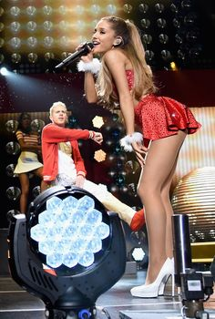 Ariana Grande at KIIS FM's Jingle Ball 2014 in LA