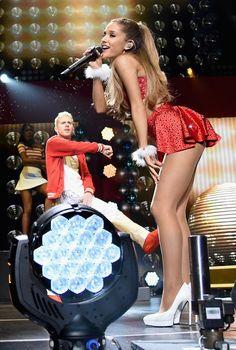 Ariana Grande at KIIS FM's Jingle Ball 2014 in LA