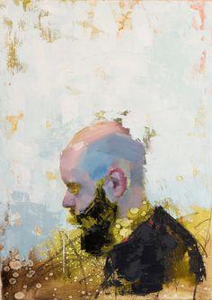 """John Wentz - """"Imprint No. 10"""" - oil on canvas - 18"""" x 25"""" (2015)"""