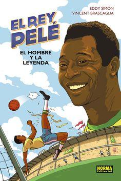 8-12 AÑOS. El rey, Pelé / Eddy Simon. Edson Arantes do Nascimiento, más conocido como Pelé, es un joven brasileño proveniente de un barrio pobre de la región de São Paulo. En 1956 firma su primer contrato como futbolista profesional. Tiene tan solo 15 años. Dos años después, su juego ya es leyenda. El mundo entero corea el nombre del rey del fútbol.