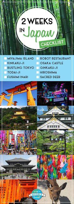 Japan Holiday Ideas - First Time Checklist | visit Living to Roam for more travel tips | livingtoroam.com #TravelDestinationsUsaNovember