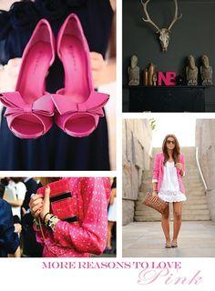 i <3 Pink shoes