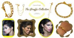 The Giraffe Collection - Custom Design and Exclusively at Jewelry Buzz Box