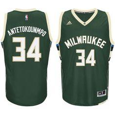 Giannis Antetokounmpo Milwaukee Bucks Youth Road Swingman Jersey - Hunter  Green 1d4059020