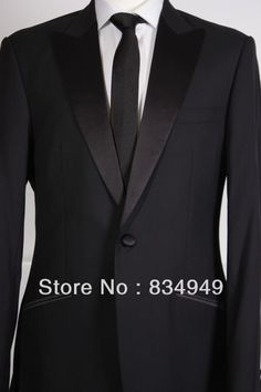 Cheap suits shanghai, Buy Quality suit panda directly from China suit style Suppliers:		Custom Made To Measure men suit / Tailor made / BESPOKE SUIT, BESPOKE black men suits with double welt pocket and sati