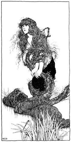 Hans Andersens Fairy Tales The Marsh Kings Daughter