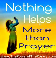 PIN IF YOU KNOW IT! Want Powerful Prayers? http://www.ThePowerofTheRosary.com
