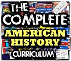 Complete American History Curriculum! Full Year of 47 Units, Tests, Supplements!Purchase this and enjoy a USB drive filled with an entire year of a ready-to-go American History Curriculum, including over one-thousand pages of engaging activities and Common Core focused lessons, tests, flash card sets, holiday lessons, 365-days of daily warmups, and a variety of other supplements!