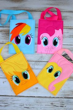 MLP goodie bag party favors by MyWonderlandBoutique on Etsy