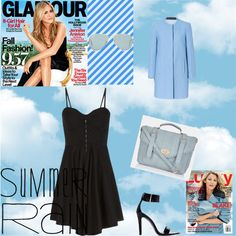 """""""Blue summer"""" by louiserondeau on Polyvore"""