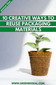 When you think about reducing, reusing, and recycling packaging, it's often the reducing and recycling that get the most attention. Check out these Top Ways to Reuse Packaging Materials | Art it Up | Reuse it for Shipping | Create Coloring Books | Weave Goodbye to Bulky, Expensive Looms | Make a Cardboard Box Guitar | Stop Weeds in Their Tracks | Create Custom Postcards | #Recycle #reuse #upcycle #DIY #Craft #projects #sustainable #ecofriendly #environment #greenliving #recycling #packaging