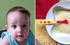 Przepisy na pierwsze dania dla maluszka, który dopiero poznaje nowe smaki. Cooking With Kids, Baby, Food, Meal, Essen, Newborn Babies, Hoods, Infant, Baby Baby