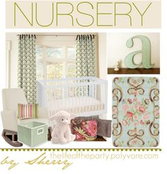 """""""Nursery"""" by thelifeoftheparty on Polyvore"""