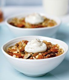 Toasted Muesli - made this on the weekend and it is easy and delish!!  I sprinkle some on yogurt and...yum! Will definitely be making this again.