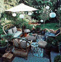 547 Likes, 58 Comments - Rasa Garden Furniture, Outdoor Furniture Sets, Outdoor Decor, Beige Cushions, Garden Deco, Decoration, Interior Inspiration, Villa, Relax
