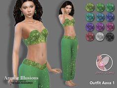 Die Sims, Swimsuits, Bikinis, Swimwear, Sims Hair, Sims 4 Cas, Sims Resource, Illusions, Swatch