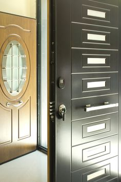 Secure Exterior Front Door