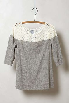Anthropologie top that I LOVE!