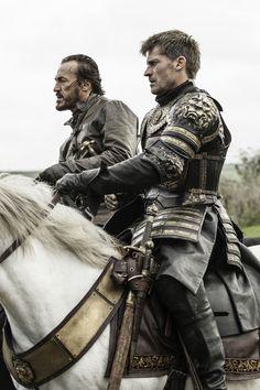 Game of Thrones Season 6 Episode 10. Jaime Lannister and Bronn, Nikolaj Coster-Waldau