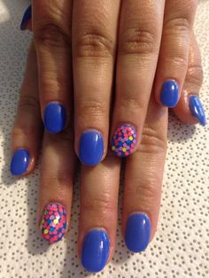 Mani Q Blue 107 Nails