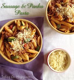 """""""Using Italian Sausage instead of addition protein like craven or beef can add abundant acidity to your admired recipes,"""" said Bob Fitzgerald, Johnsonville Johnsonville Italian Sausage Recipes Pasta Penne Recipes, Sausage Pasta Recipes, Italian Sausage Recipes, Cooking Recipes, Johnsonville Italian Sausage Recipe, Risotto, Fun Easy Recipes, Tasty Dishes, Dinner"""