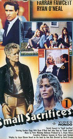 "Small Sacrifices (1989) ""IMDB"" Ryan O'neal, Farrah Fawcett, Video Film, Executive Producer, True Crime, Documentaries, Movie Tv, Tv Series, Tv Shows"