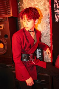 """161031 EXO-CBX's Hey Mama! Album iTunes Digital Booklet "" baekhyun"