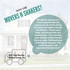 Why should you trust Movers N Shakers for your next local or long-distance move? http://moversnshakers.com