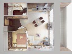 планировка студии 40 кв.м: 19 тыс изображений найдено в Яндекс.Картинках