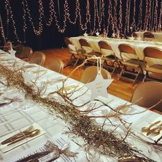 Angels Among Us Themed Table dinner and decorations