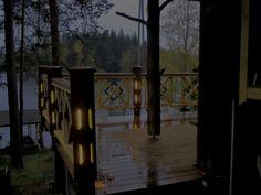 Lights on the terrace. Wooden Lamp, Terrace, Patio, Lights, Sweet, Summer, House, Outdoor, Design