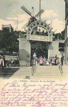 CPA Paris 18e (Dep. 75) Moulin de la Galette (74082) | eBay