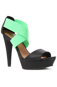 The Tamms Reptile Shoe in Black #karmaloop