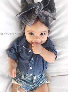 Baby Girl Clothes On - October 18 2018 at Fashion Kids, Baby Girl Fashion, Toddler Fashion, Babies Fashion, Fashion Fashion, Fashion Outfits, Baby Outfits, Toddler Outfits, Kids Outfits