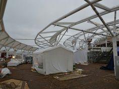 Harmony of the Seas solarium construction almost complete