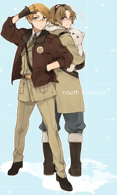 APH America & Canada by Hitapita (anyone else realize it spelled 'nouth America'?) :P