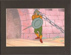 HE-MAN Masters of the universe Production Animation Art Cell and drawing 2* by CharlesScottGallery on Etsy