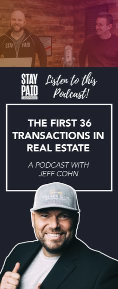 In 2019, Jeff Cohn's team of agents was named by Berkshire Hathaway HomeServices as the #1 team in unit sales in the world. He knows his numbers, and he's put into place a system for his new agents to know precisely when and where they can get their first 36 transactions. real estate podcast - realtor podcast - real estate agent marketing success - realtor ideas #realestateagent #realtor Real Estate Marketing, The One, Numbers, Success, Ideas, Thoughts