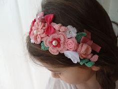 Angela Patella Handmade: Rose, fiori e fiocchi per un nuovo cerchietto.