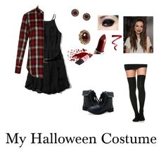 """""""My Halloween Costume"""" by avengersgirl3 ❤ liked on Polyvore featuring Abercrombie & Fitch, Yves Saint Laurent, Aéropostale, Accessorize, Fantasy Jewelry Box, Ellis Faas and avengersgirloutfits"""