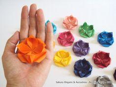 Forminha para doces - Sakura Origami & Acessórios #FestaComOrigami