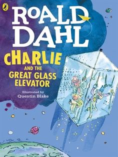 Cover image for Charlie and the Great Glass Elevator.