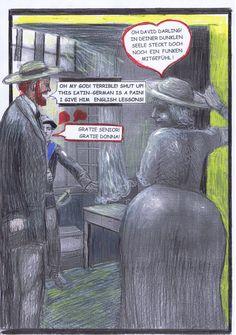 Um wenigstens die Brosamen dieser heißen Affäre zu erheischen, gibt D.H. Lawrence dem Liebhaber seiner Frau Englischunterricht.
