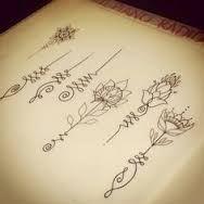 60 Meilleures Images Du Tableau Unalome Lotus Tattoo Henna
