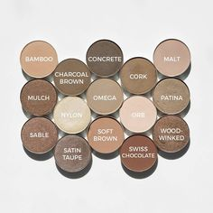 A few of my favorite neutral shadows for MAC Monday. Swipe for shade names. Thinking about the victims in Las Vegas today. Mac Makeup Looks, Natural Makeup Looks, Love Makeup, Beauty Makeup, Hair Makeup, Drugstore Beauty, Amazing Makeup, Makeup Geek, Makeup Dupes