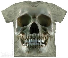 The Mountain Big Face Skull  Death  T Shirt S - 3XL  #3218 595