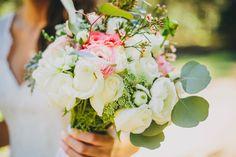Wallflower Inspiration Floral Design// #coral #blush #romantic #weddingbouquet